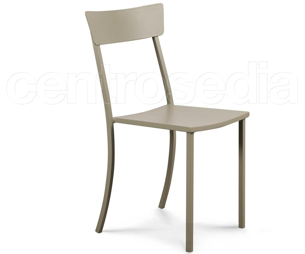 Mogan sedia alluminio sedie alluminio metallo