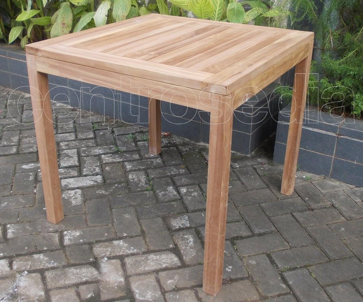 Ekos tavolo legno teak tavoli teak for Tavolo legno teak
