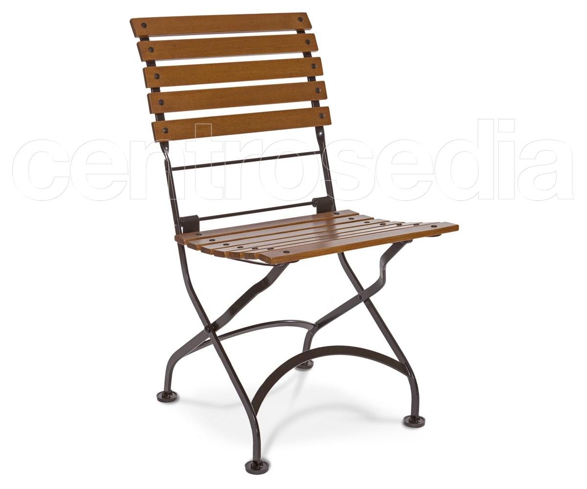 Country v sedia pieghevole metallo legno sedie pieghevoli - Sedia pieghevole trasparente ...
