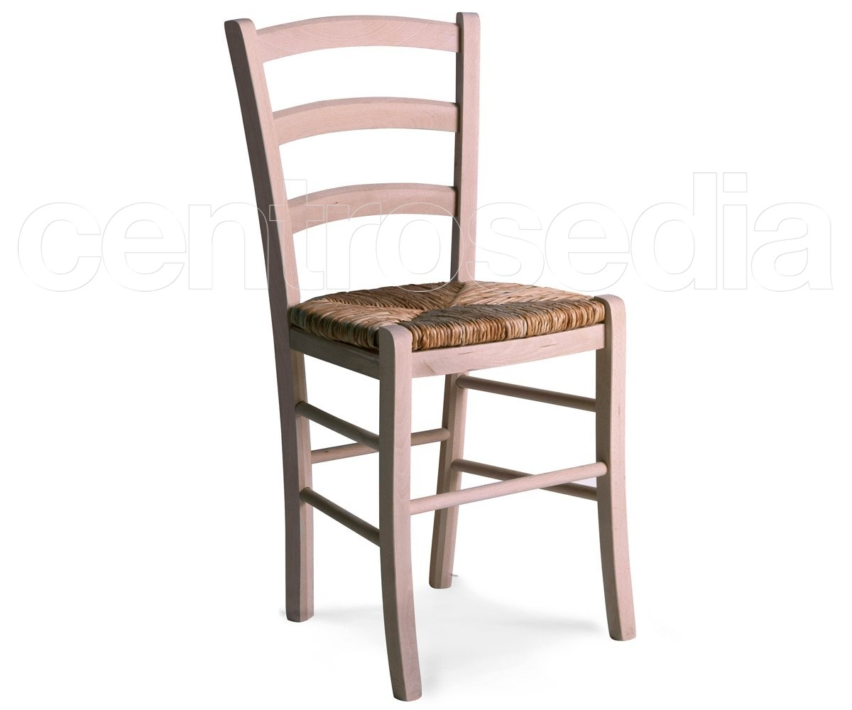 Anita sedia legno rustico grezza sedie legno classico e for Arredatore ikea