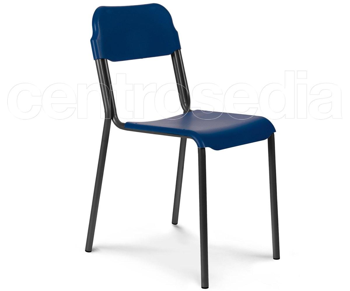 Dieci sedia plastica sedie metallo plastica