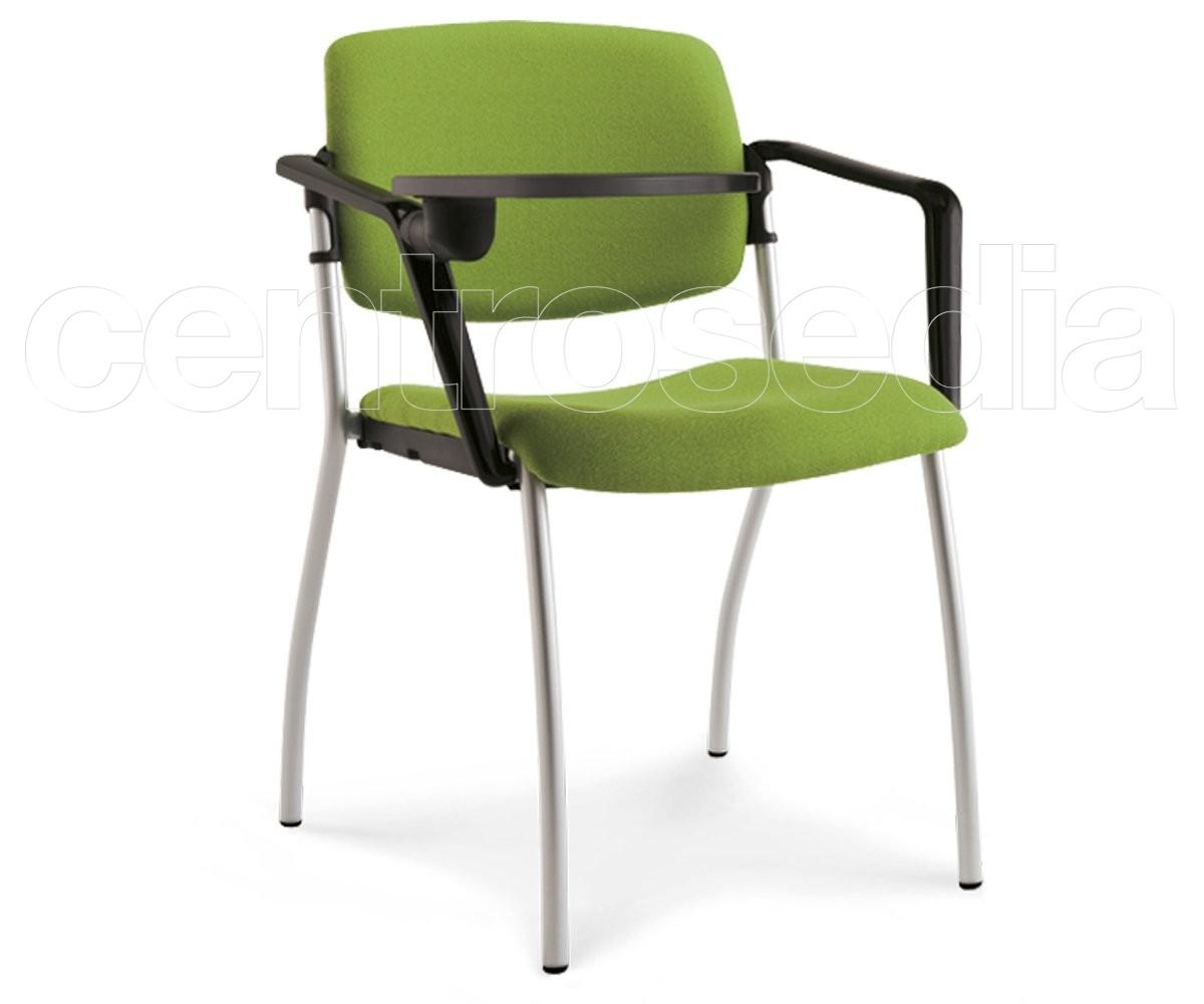 Sedie Ufficio Con Ribaltina : Plus poltroncina imbottito sedie tavoletta scrittoio ribaltina