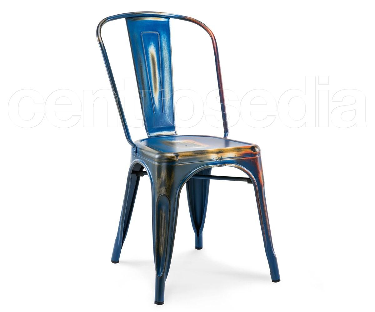 Sedie In Metallo Vintage : Virginia sedia metallo vintage retro sedie vintage e industriali
