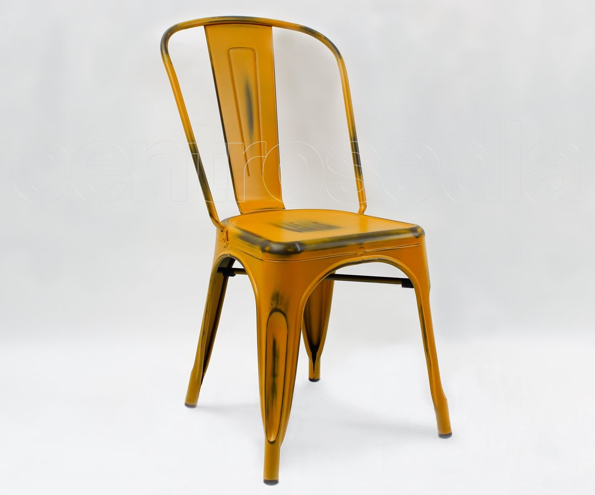 Virginia Sedia Metallo Vintage Retro\' - Sedie Vintage e Industriali