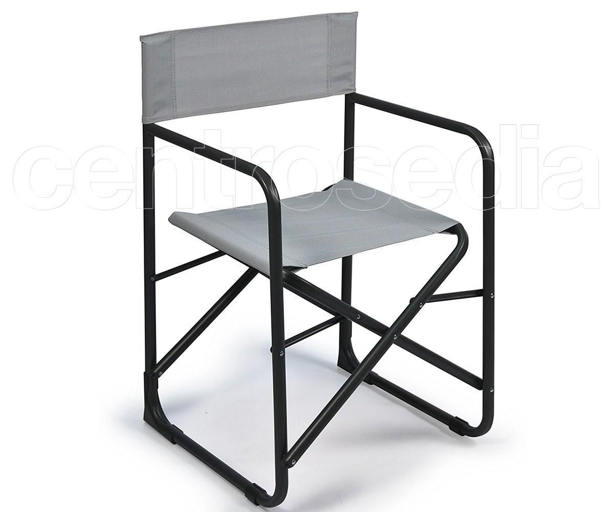 Elsa sedia regista pieghevole metallo sedie regista