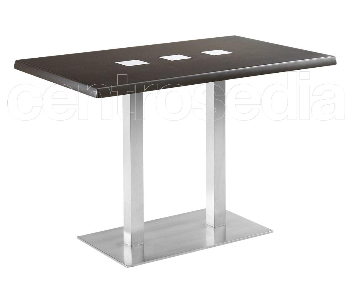 Munich tavolo acciaio inox tavoli alluminio metallo