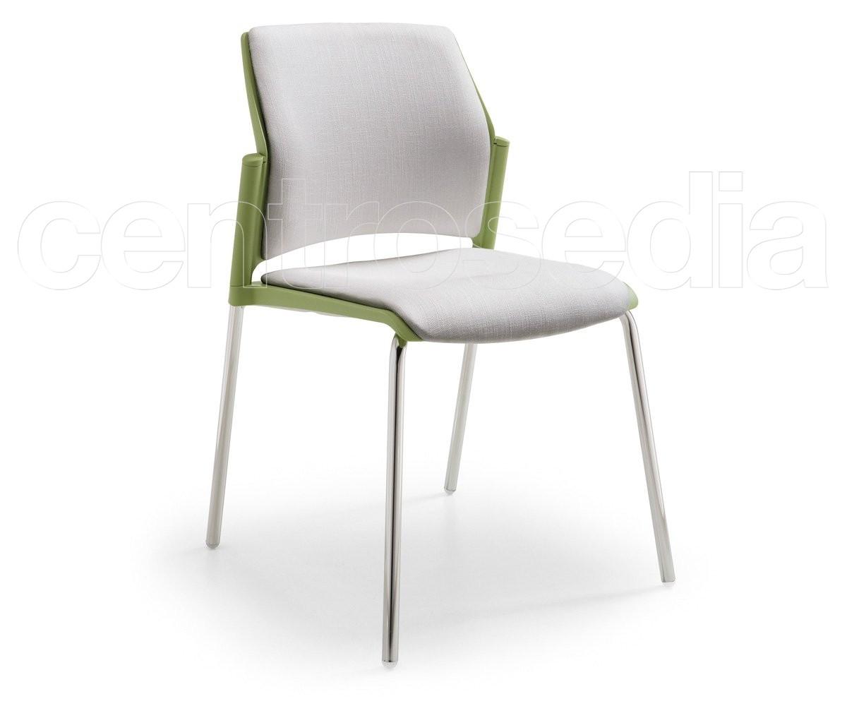 Cs sedia polipropilene sedie metallo plastica