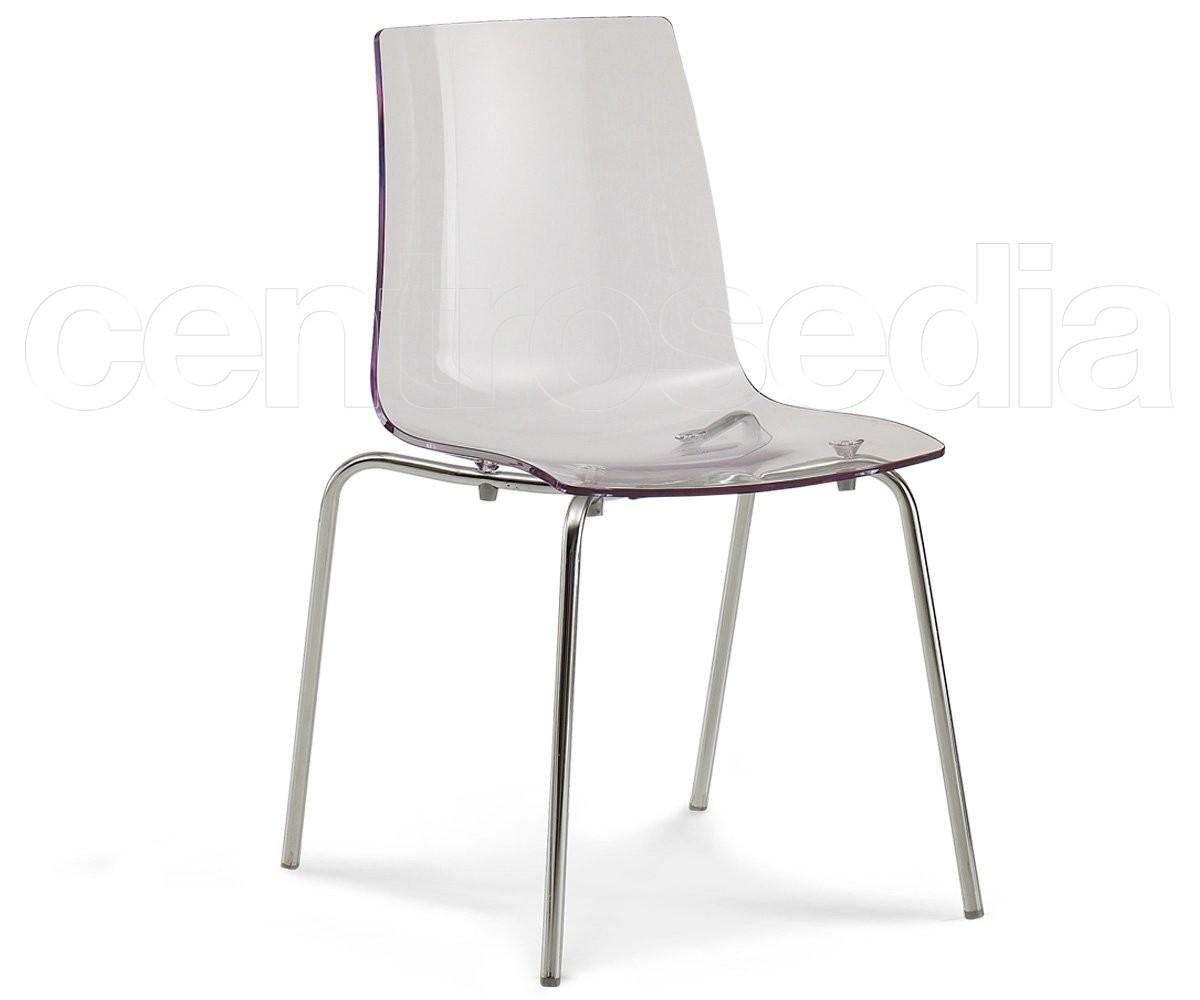 Pop sedia policarbonato sedie policarbonato trasparenti for Sedie policarbonato