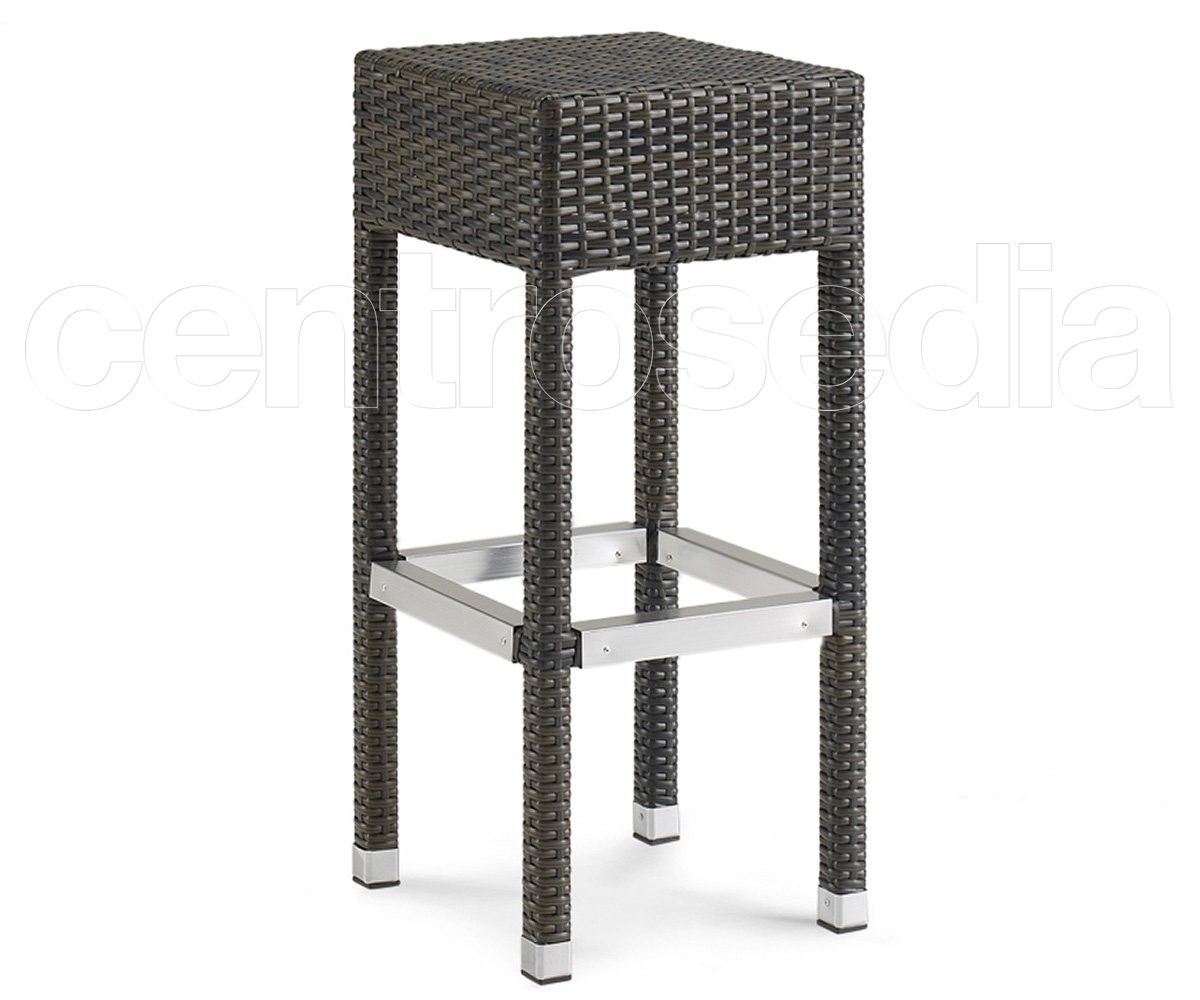 Bloom sgabello eco rattan super sconto fine serie sgabelli bar