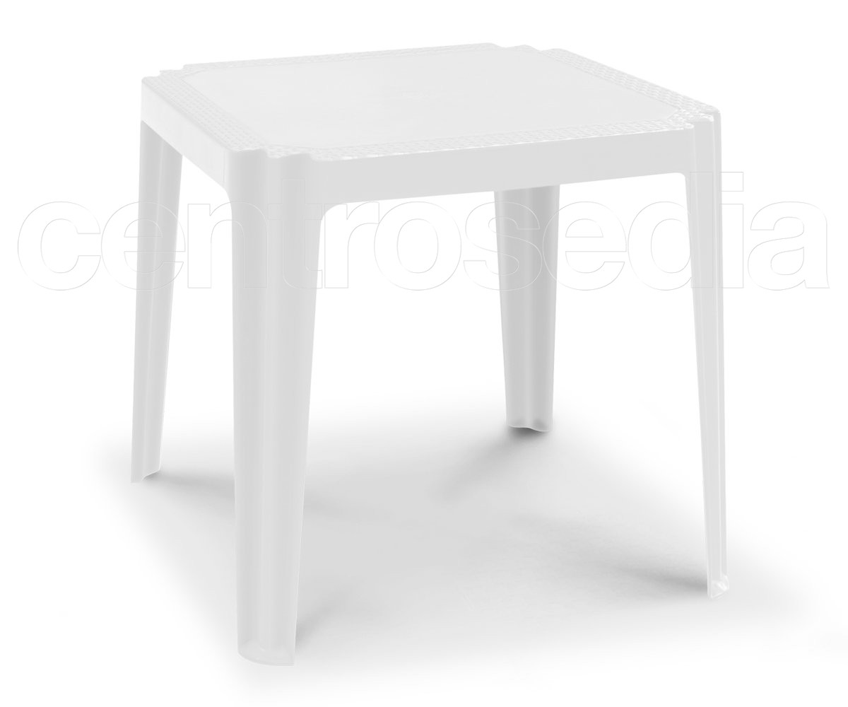 Tavoli In Plastica Impilabili.Kraun Tavolo Effetto Rattan Tavoli Polipropilene E Plastica