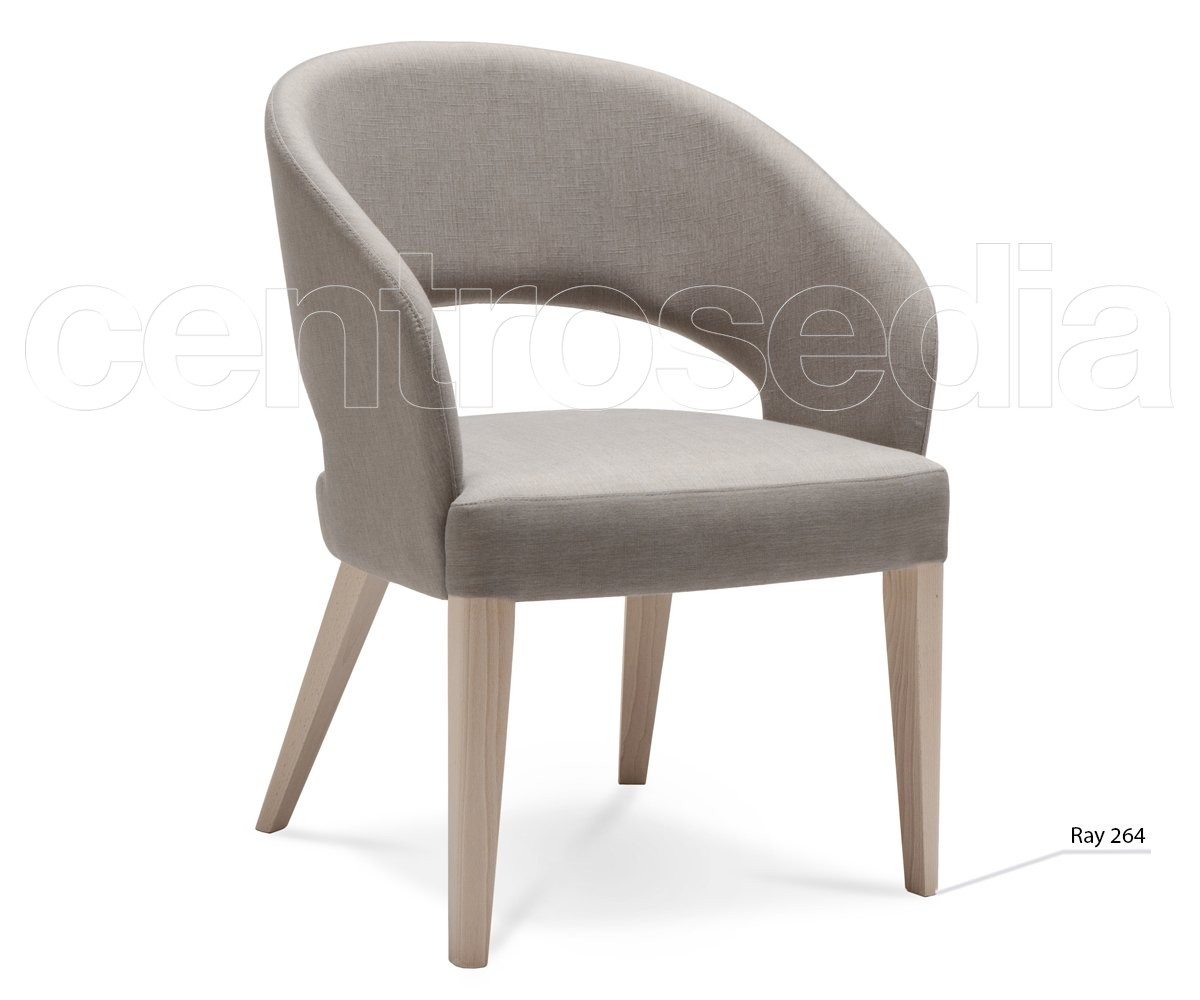 Ray poltroncina legno imbottito poltrone e divani design