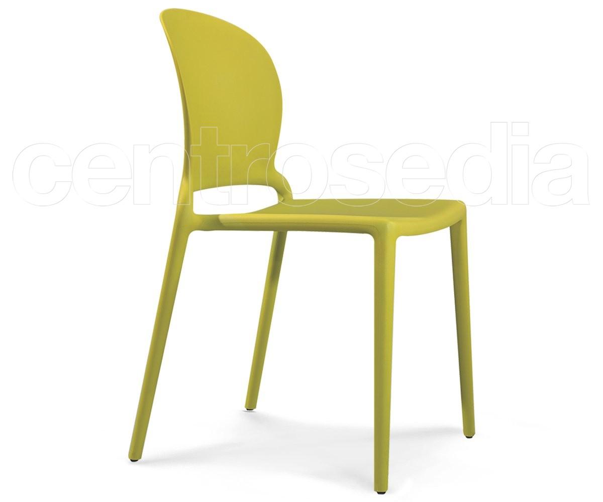 Sasha sedia polipropilene sedie plastica polipropilene for Sedia polipropilene