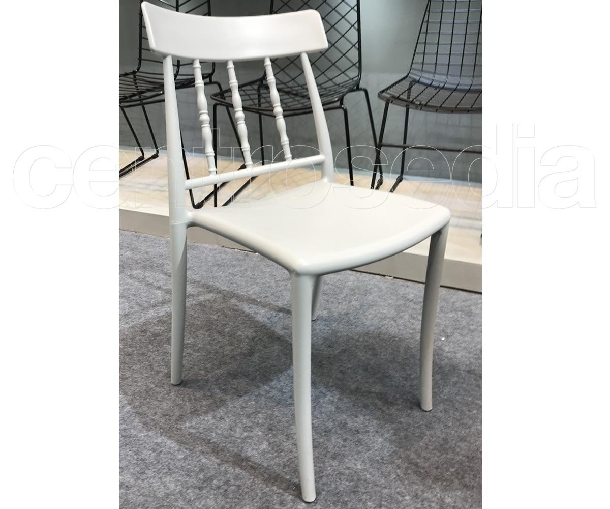 Zara sedia polipropilene sedie plastica polipropilene