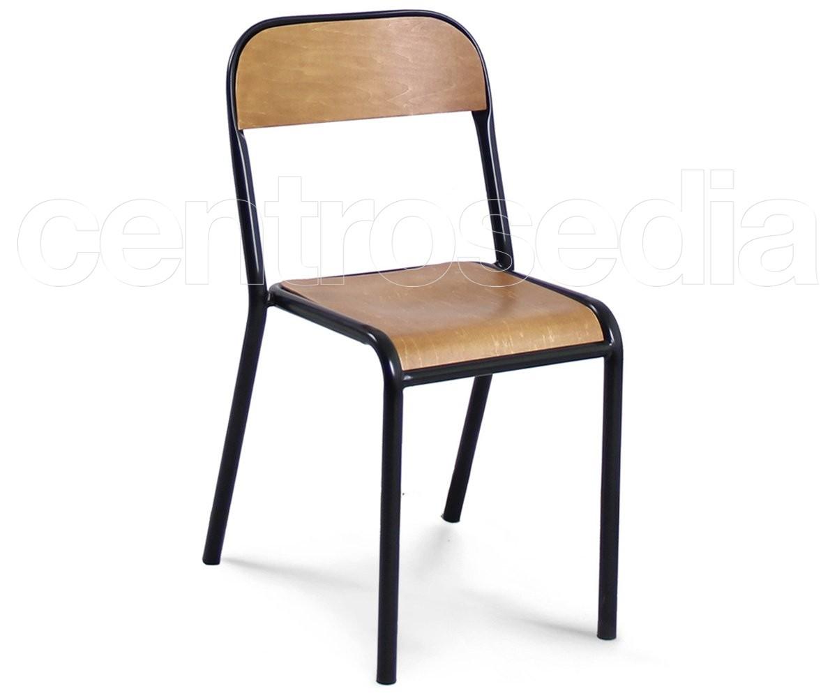 Tecla sedia legno metallo sedie vintage e industriali