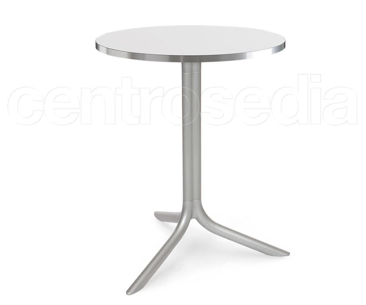 Flute Base Tavolo Alluminio - Tavoli Alluminio, Metallo