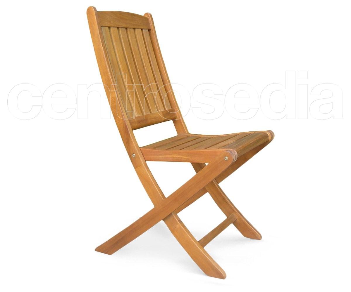 Iberica sedia pieghevole in legno di acacia sedie pieghevoli
