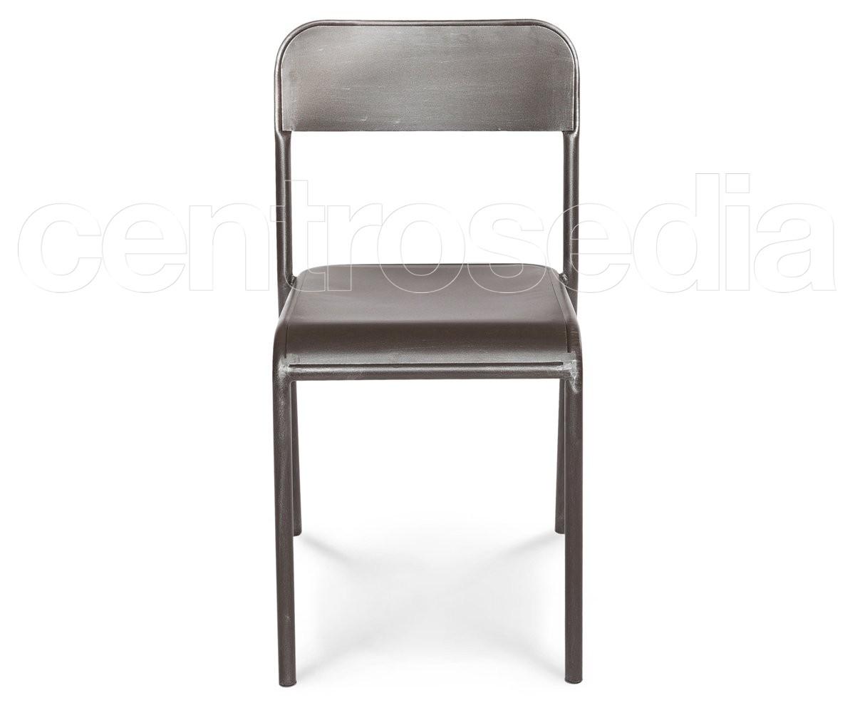 Industry sedia metallo sedie vintage e industriali
