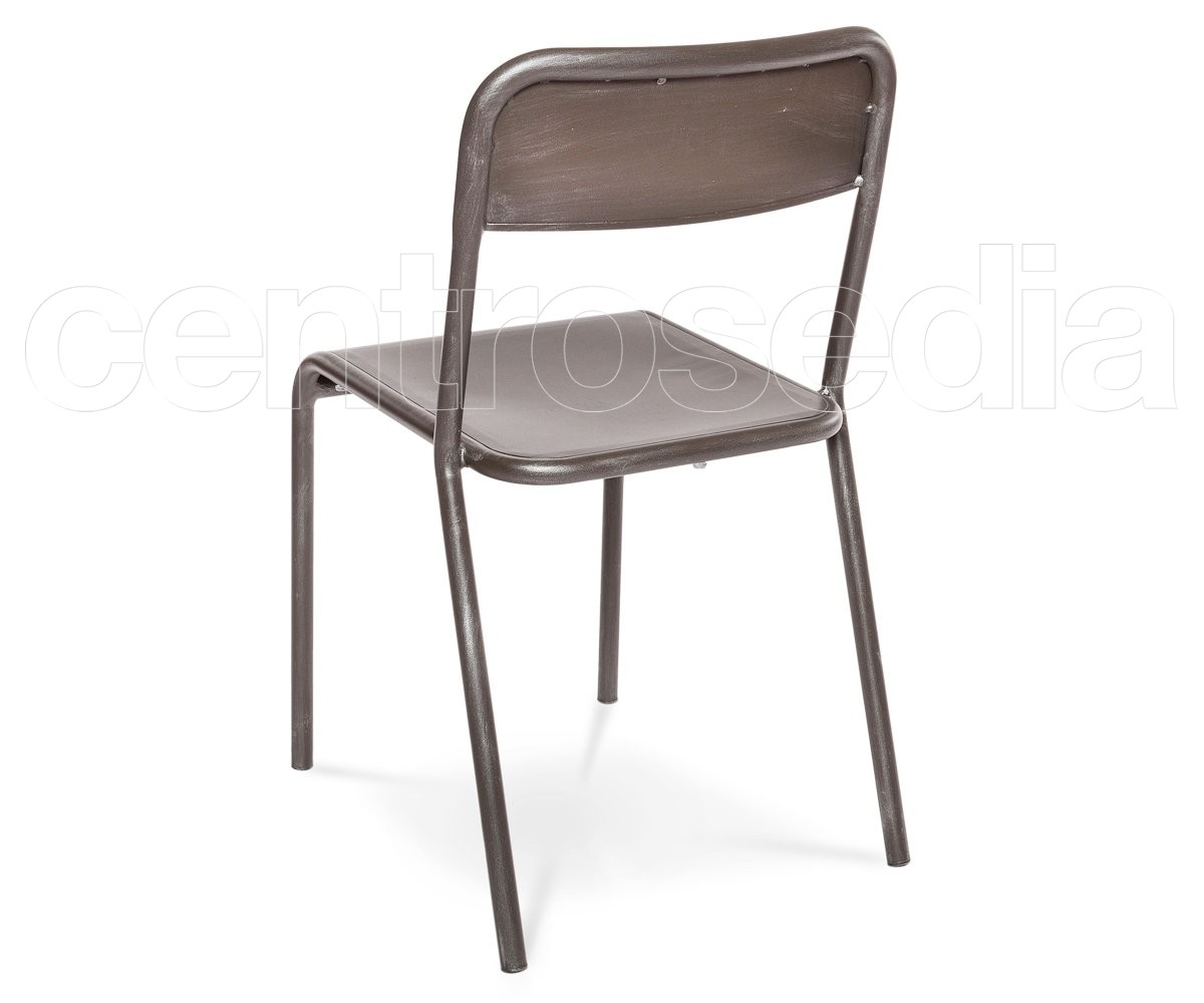 Industry sedia metallo sedie aule laboratori mense