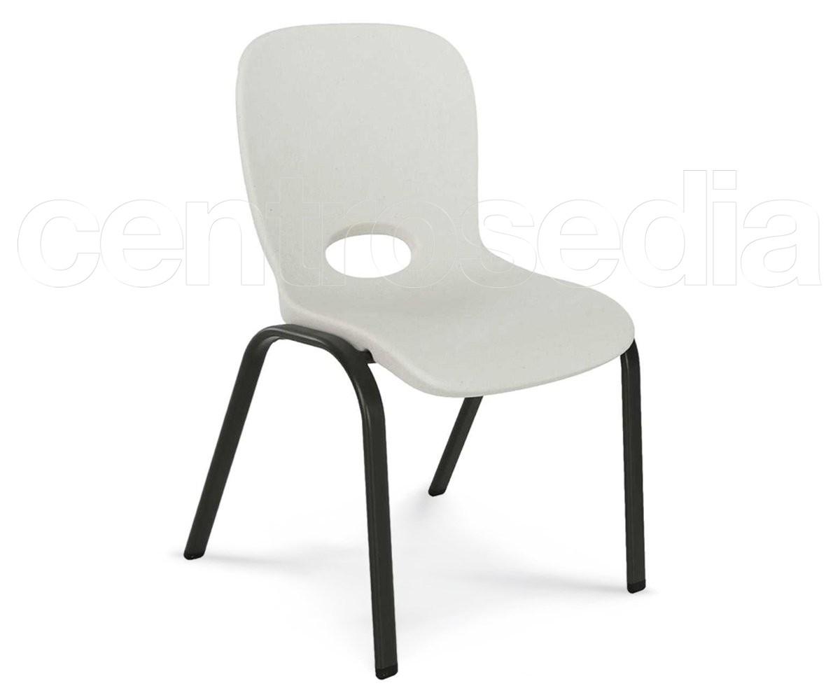 Lifetime sedia impilabile bambino sedie asili scuole materne