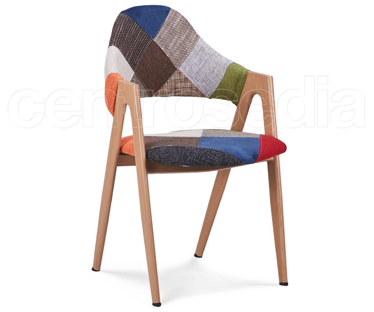 Sedie In Legno Imbottite : Sedie vintage legno imbottite sedia con struttura in legno