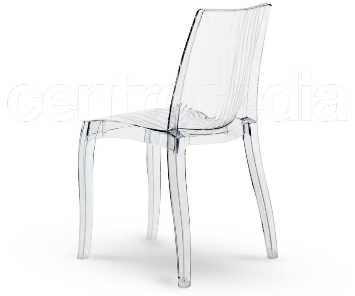 Aura sedia policarbonato trasparente sedie policarbonato