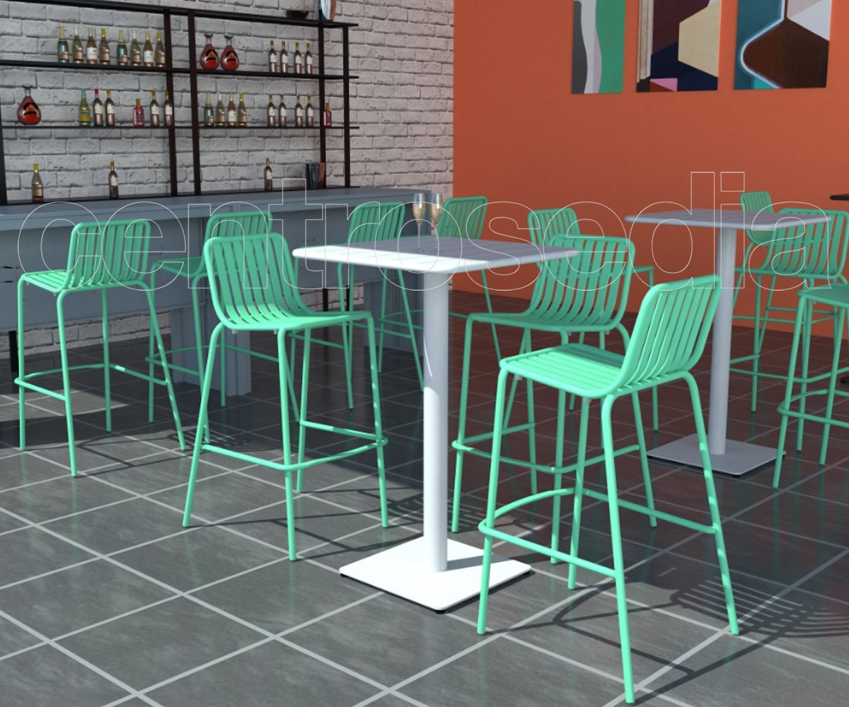 Alexandra sgabello alluminio sgabelli bar ristoranti