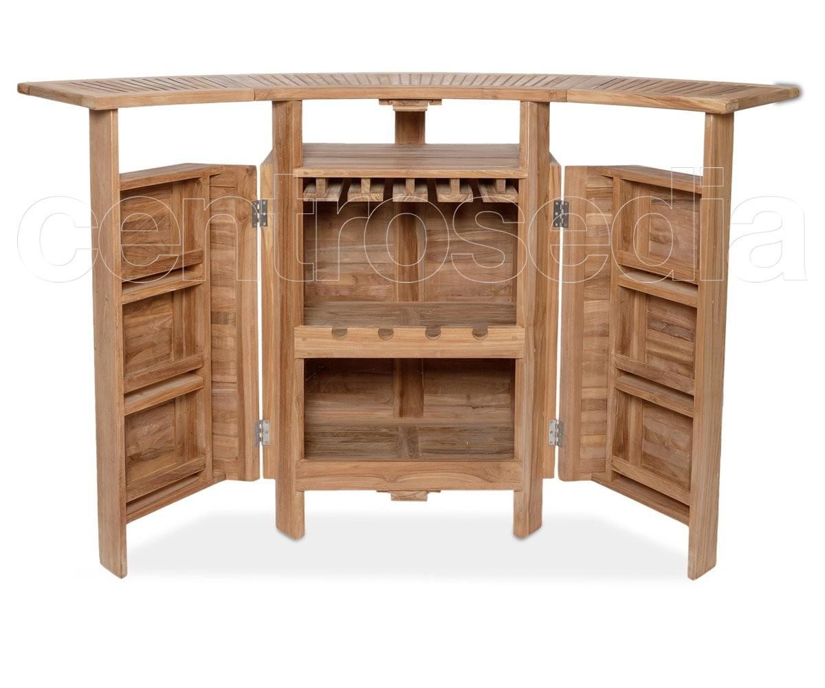 Bancone Bar Da Giardino papaya bancone bar legno in di teak - tavoli legno teak
