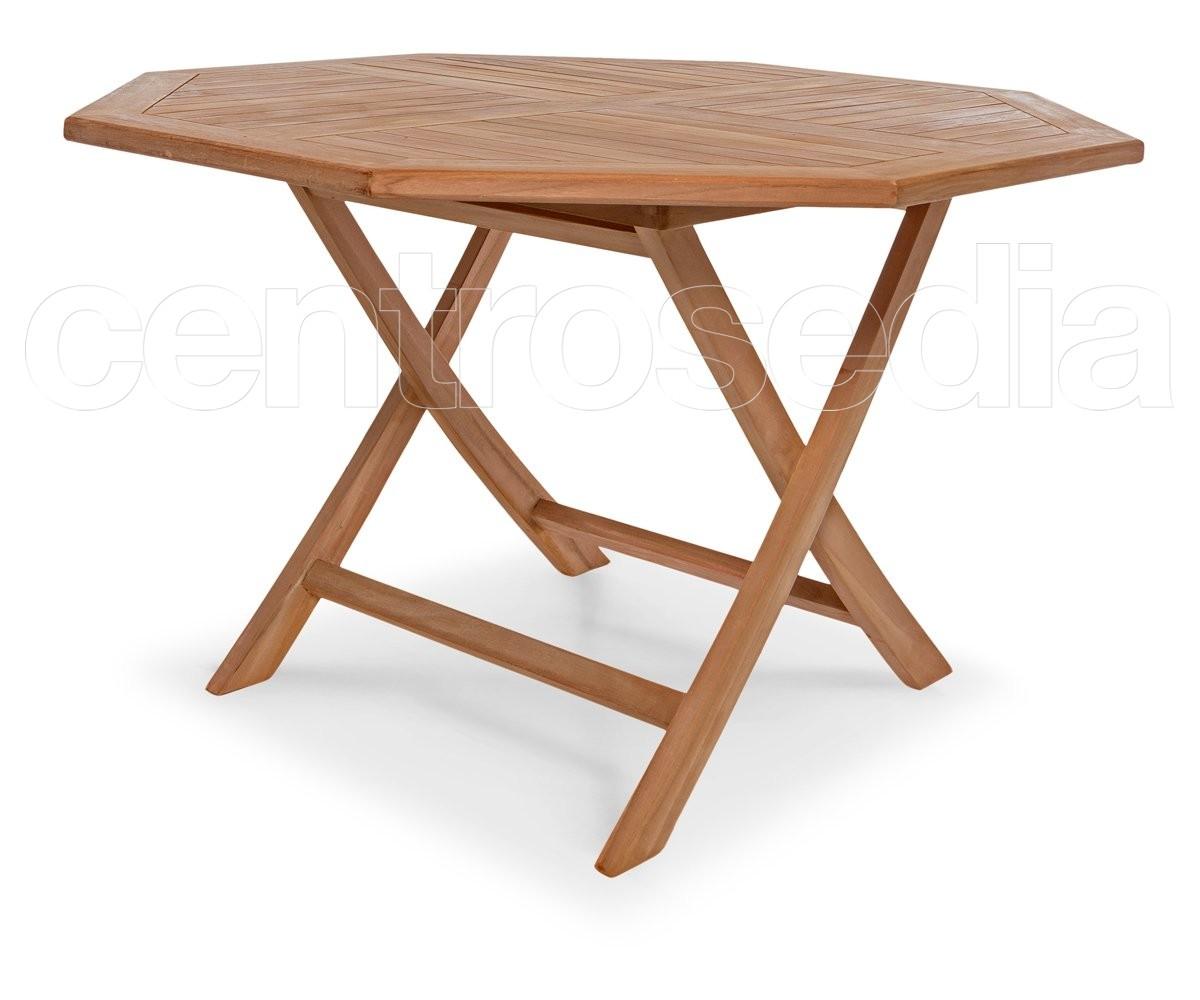 Tavolo Pieghevole Di Legno.Citro Octagonal Table In Solid Teak Wood Tavoli Legno Teak