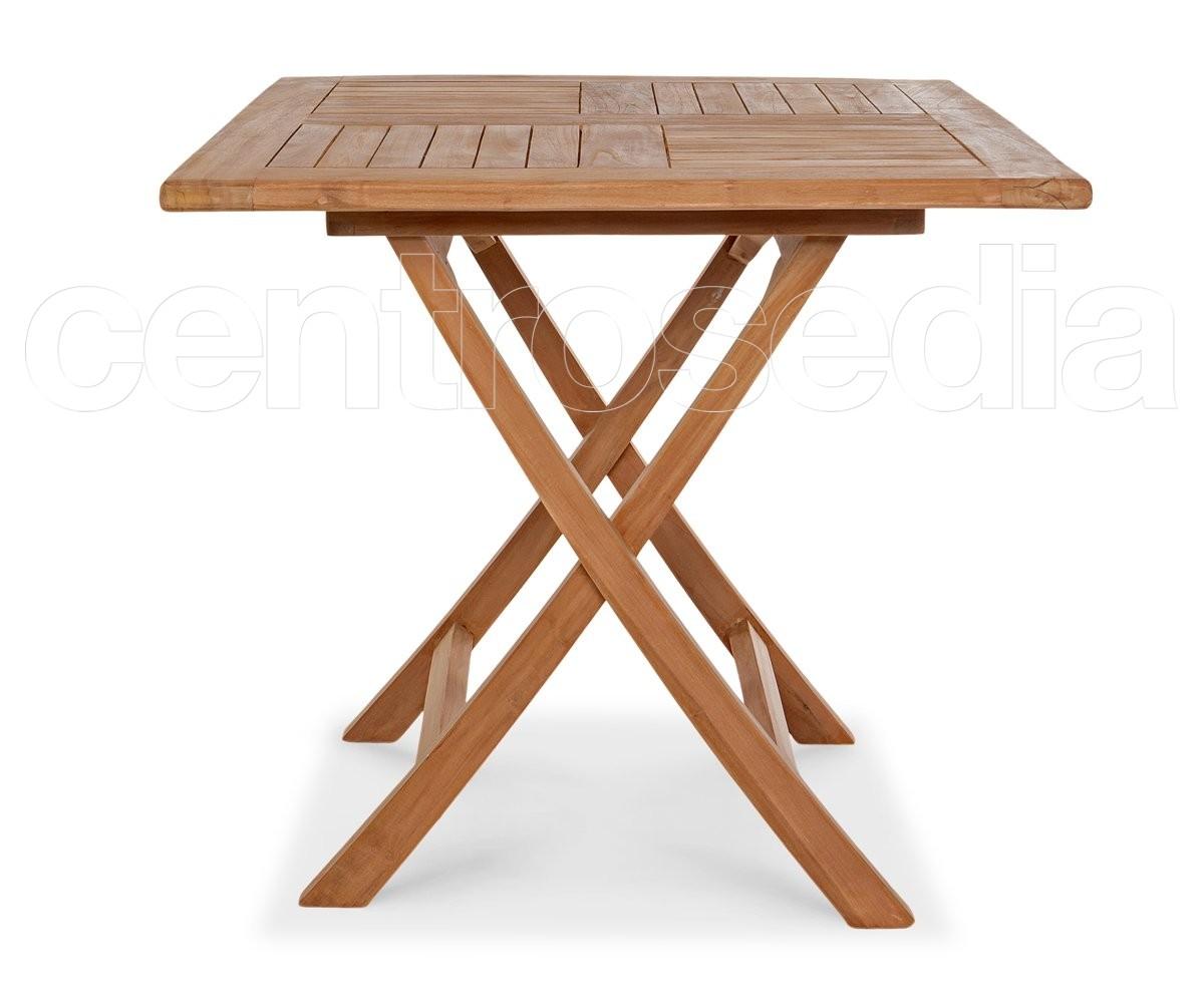 Tavoli Di Plastica Quadrati.Ambon Tavolo Pieghevole Quadrato In Legno Di Teak Tavoli Legno Teak