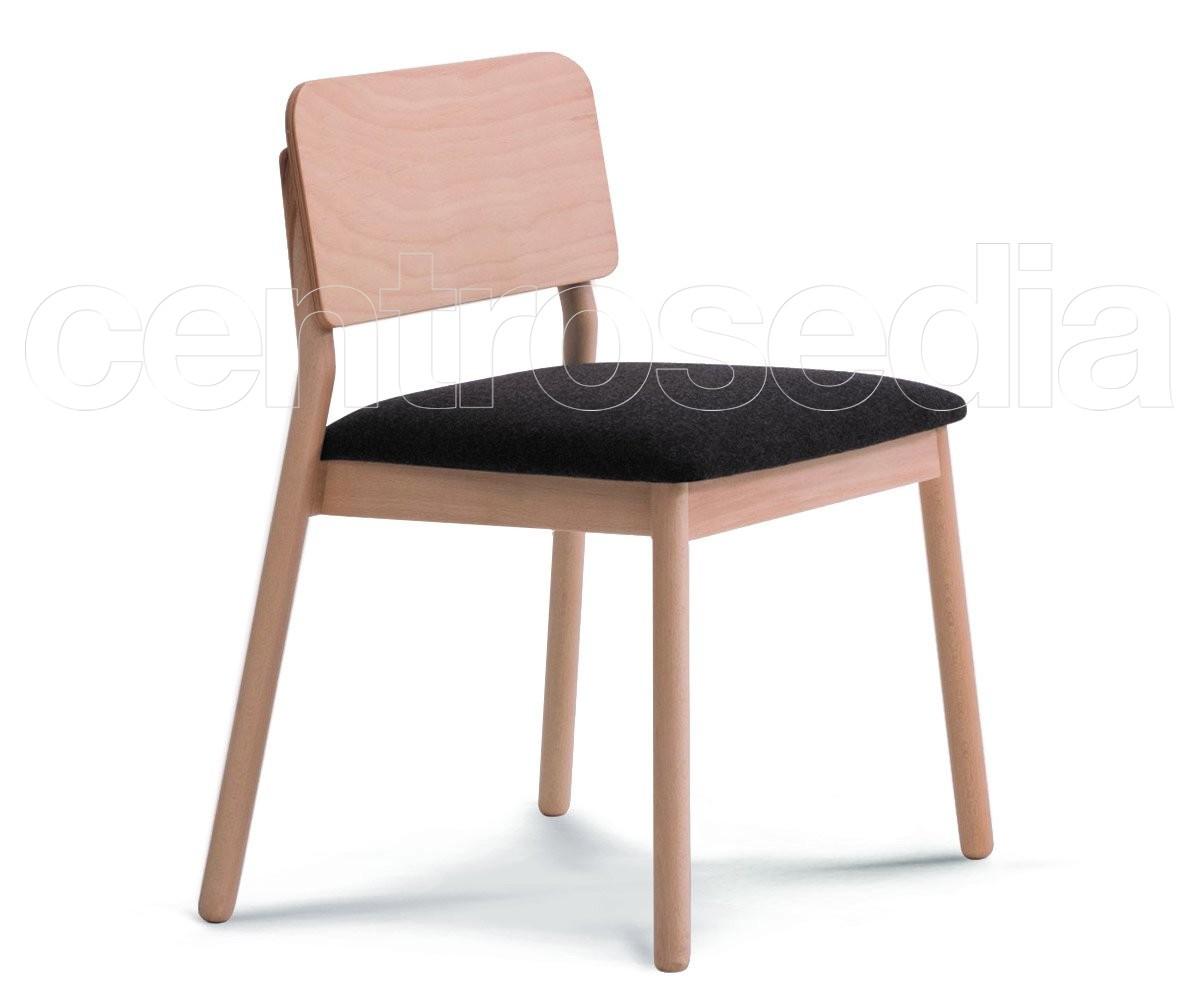 Sedie In Legno Imbottite : Amie sedia legno seduta imbottita sedie design legno