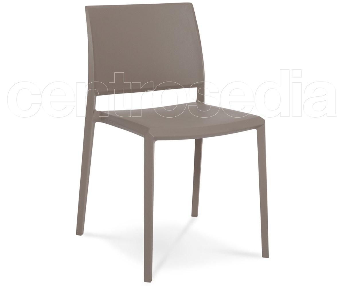 Sedie In Polipropilene Colorate.Noel Sedia Polipropilene Sedie Plastica Polipropilene