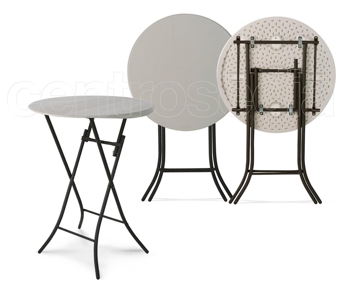 Lifetime tavolo pieghevole alto Ø cm tavoli alti cocktail