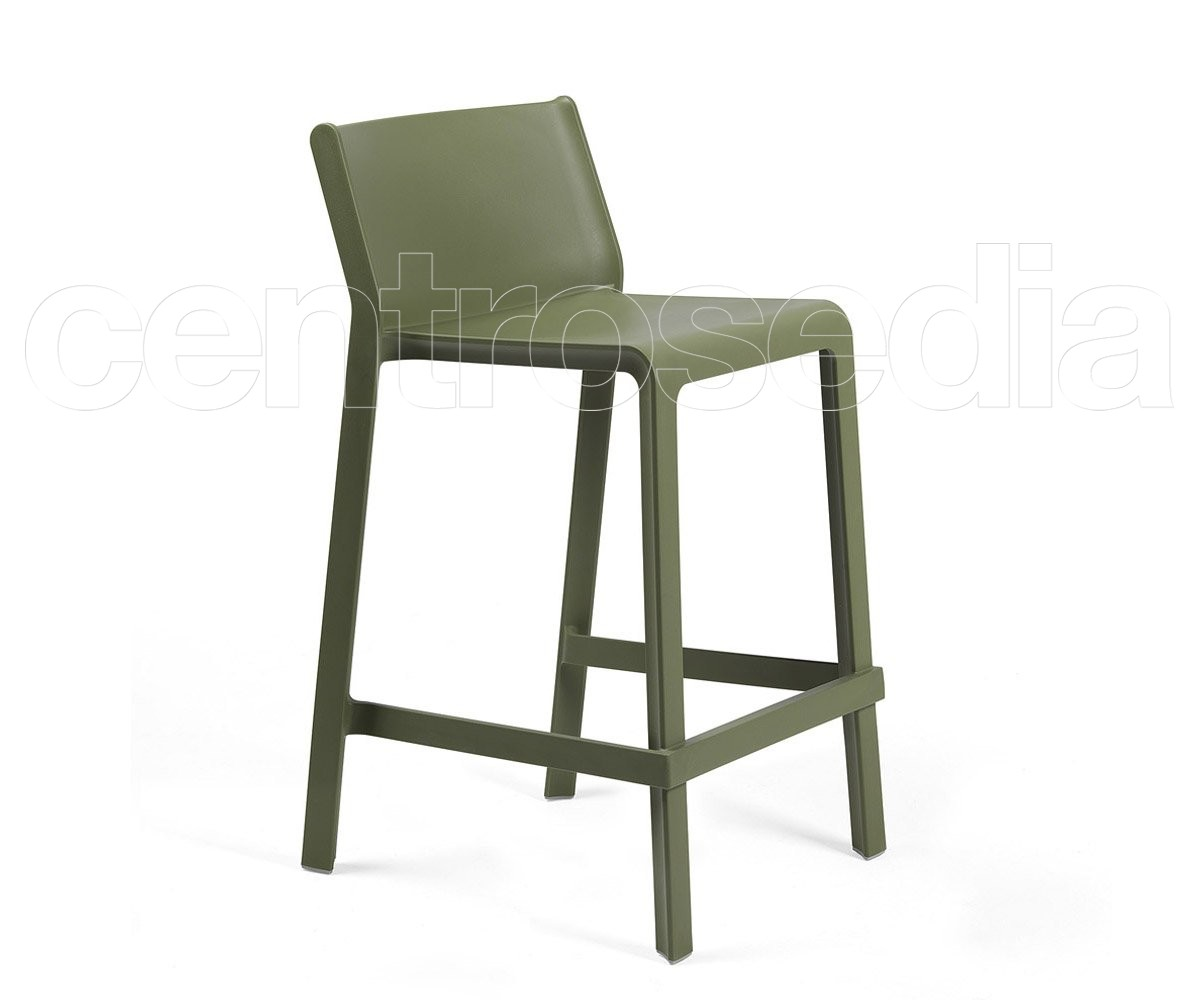 Trill polypropylene mini stool barstools