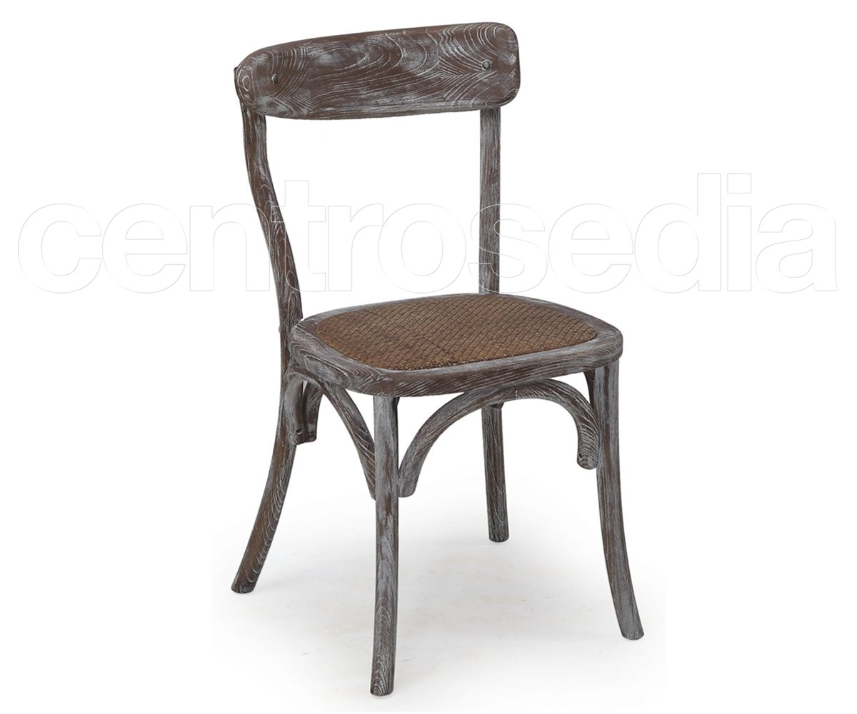 Gemma sedia legno provenzale shabby sedie shabby chic