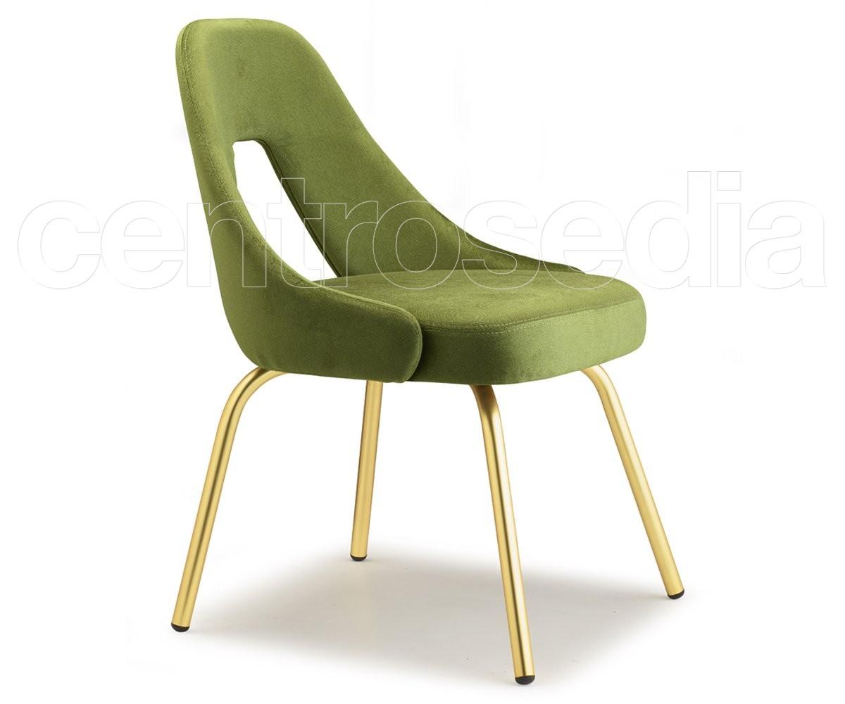 Me sedia metallo ottone scab design sedie design
