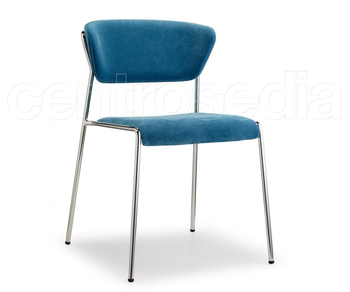 Scab Sedie E Tavoli.Lisa Sedia Acciaio Imbottita Scab Design Sedie Design