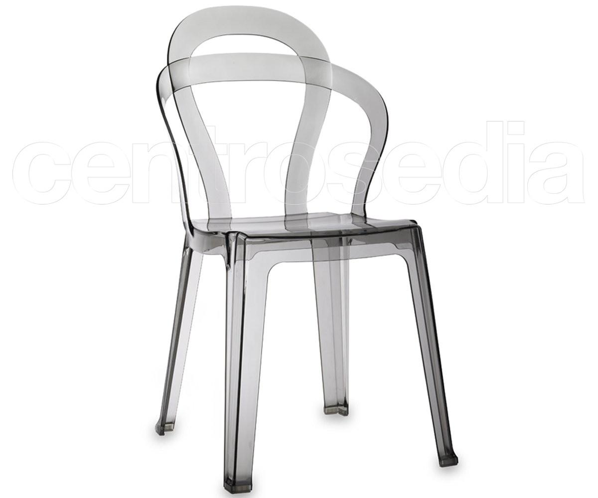 Titì sedia policarbonato sedie policarbonato trasparenti
