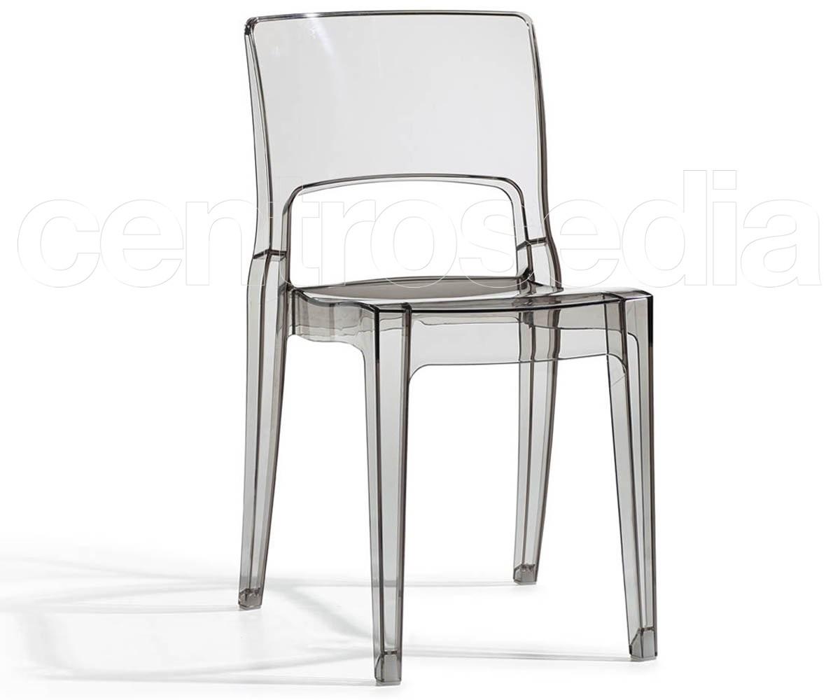 Isy sedia policarbonato scab design sedie policarbonato trasparenti