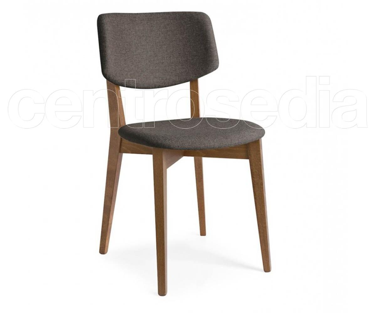 Sedie Pieghevoli Calligaris Design.Robin Padded Wooden Chair Calligaris Wood Design Chairs
