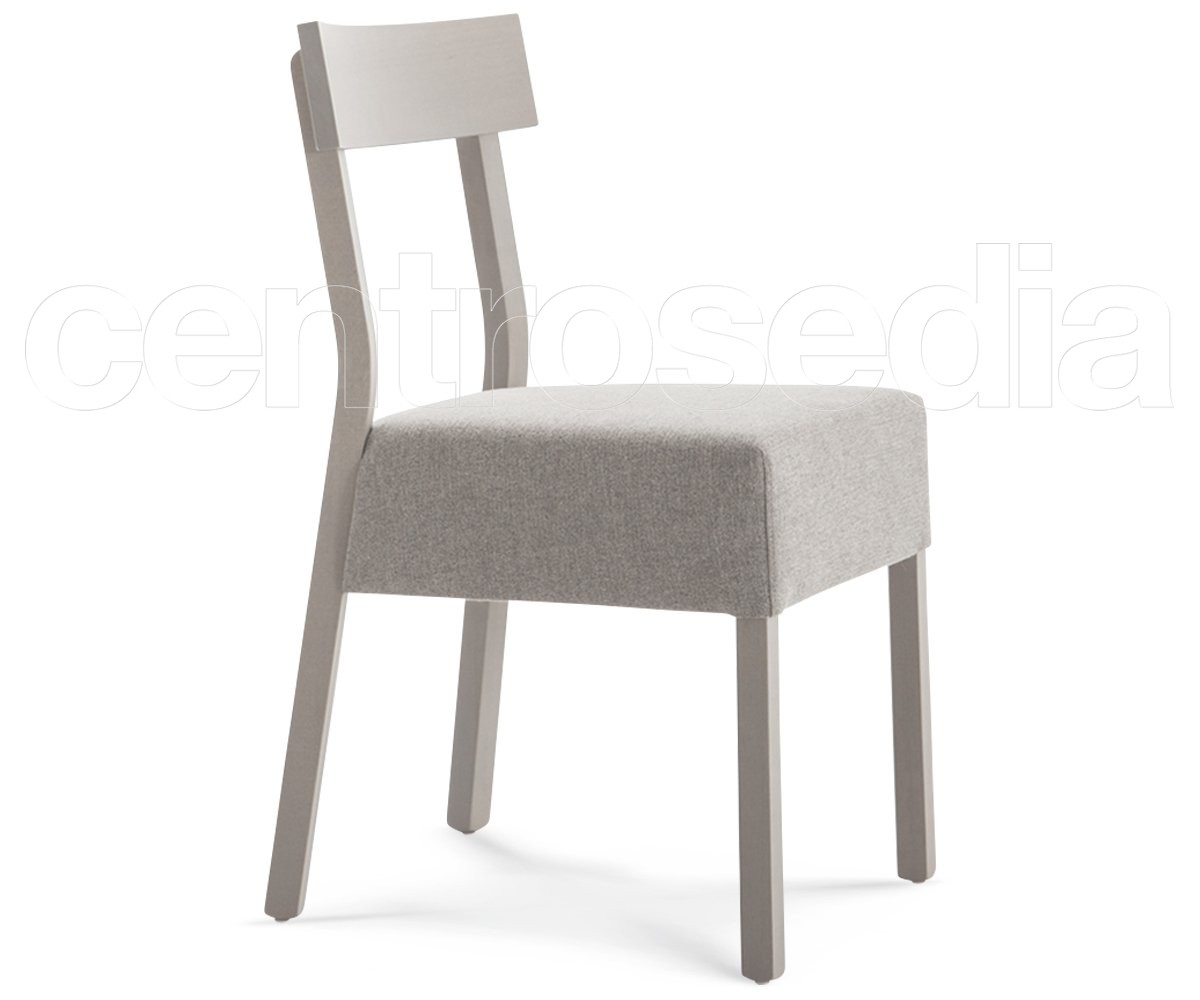 Sedie In Legno Imbottite : Nadia e sedia legno seduta imbottita sedie design legno