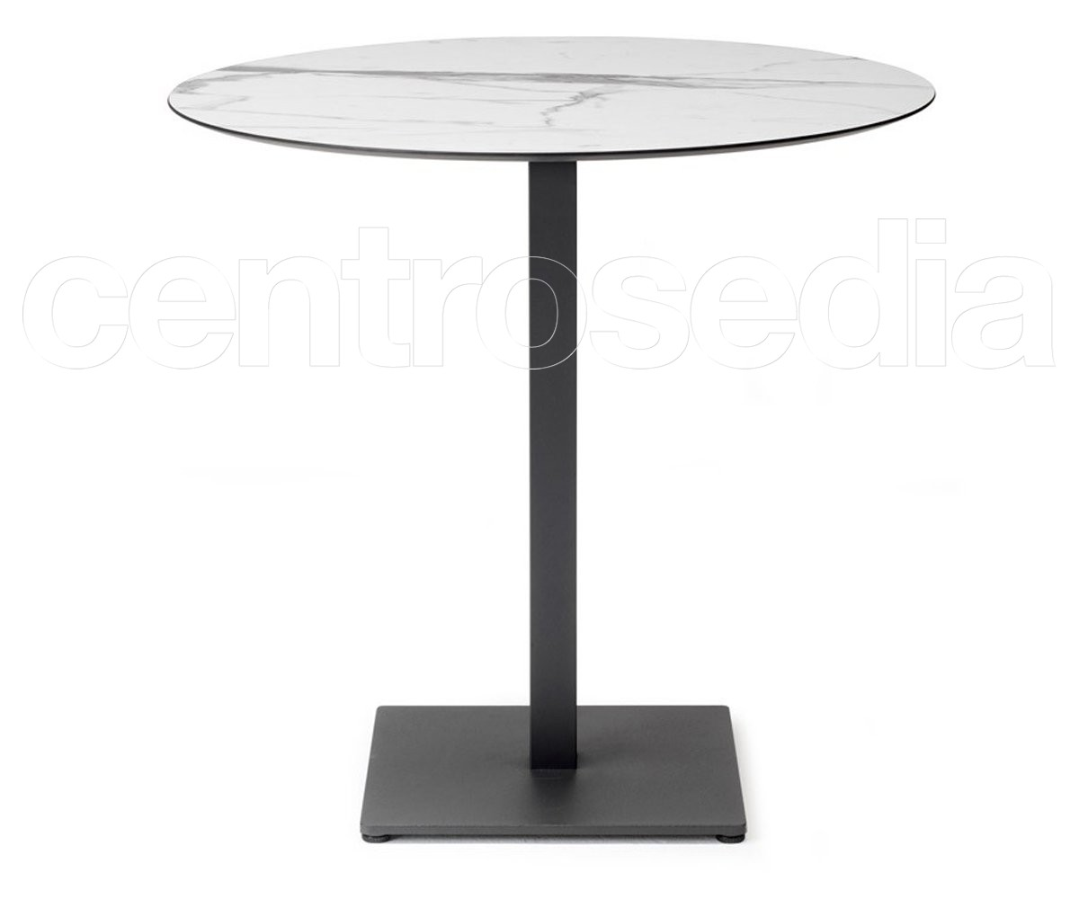 Tavoli In Plastica Per Bar.Tiffany Base Tavolo Metallo Scab Design Tavoli Per Bar Ristoranti