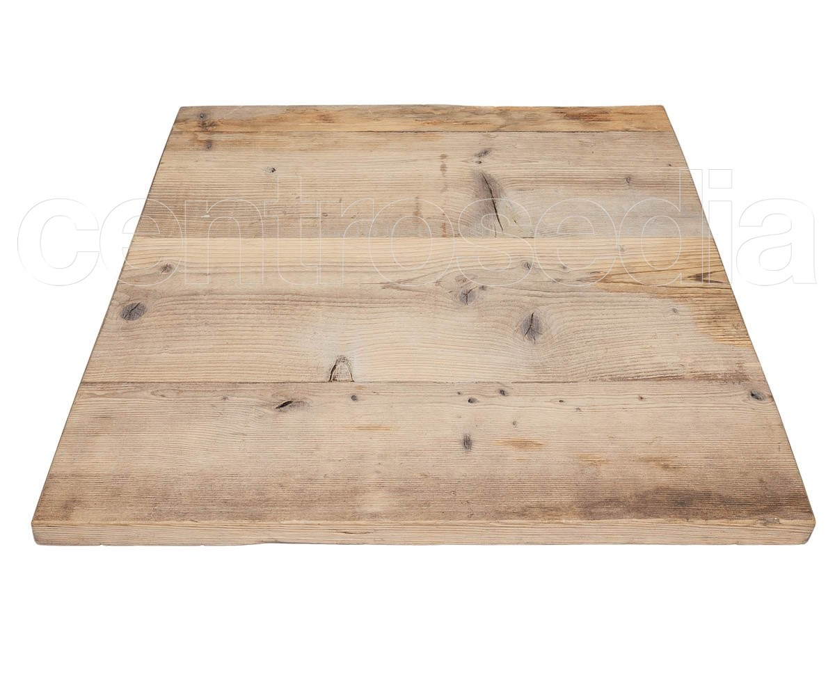 Sedie Per Tavolo Legno Massello piano massello di abete spazzolato - piani legno massello