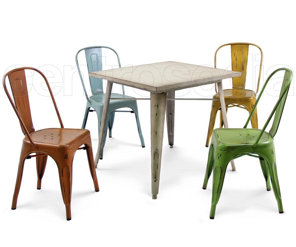 Tavoli e sedie da esterno in metallo idee di design for Sedie design vintage