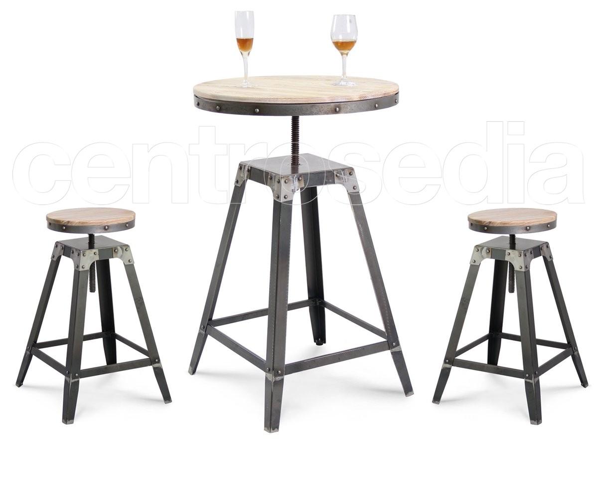 Tavolo Alto Da Pub : Bristol tavolo alto industriale tavoli alti vintage e industriali