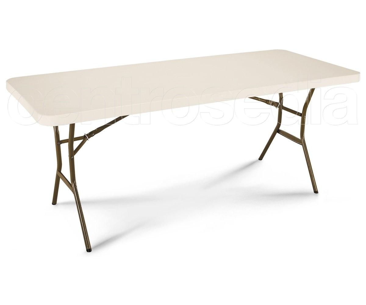 Lifetime 80524 tavolo pieghevole 183x76 cm tavoli for Tavolo alto pieghevole