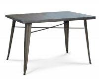 Ares Tavolo Metallo Old Style 120x80 cm